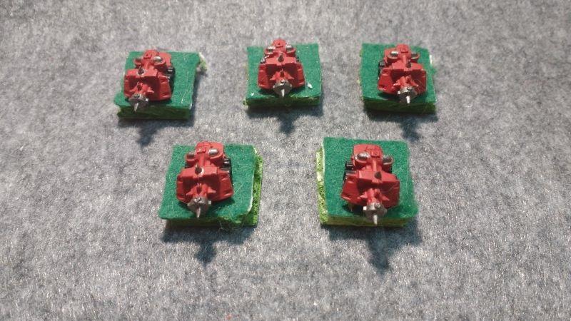 Batterie de Kanons Traktors